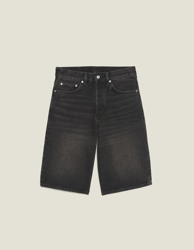 Pantaloncini In Jeans : Sélection Last Chance colore Nero