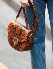 Borsa Pépita : My Pepita Bag colore PYTHON CAMEL