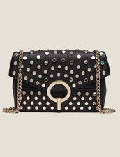 Borsa Yza piccola con borchie : L'intera collezione Invernale colore Nero