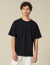 T-Shirt In Cotone : Collezione Invernale colore Nero