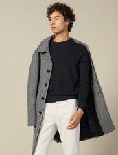 Pullover in punto brioche : Maglioni & Cardigan colore Blu Marino