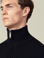 Pullover Con Collo Alto : Maglioni & Cardigan colore Nero