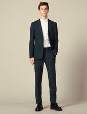 Pantaloni Da Completo : Abiti & Smoking colore Vert foncé
