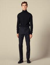 Pantalon de costume classique : Toute la Sélection couleur Marine