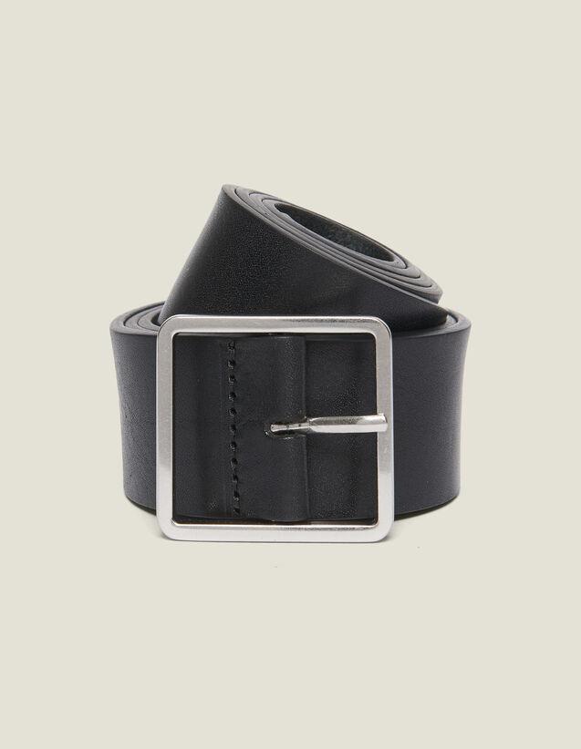 Cintura In Pelle : Cinture colore Nero
