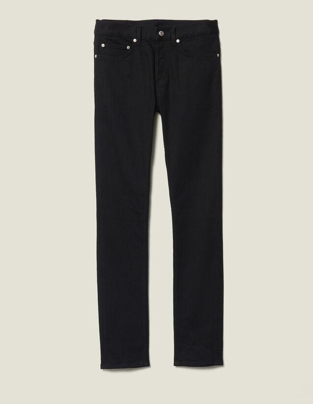 Jeans linea slim : Jeans colore Black - Denim