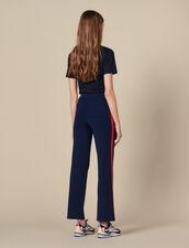 Pantaloni da jogging in maglia : FBlackFriday-FR-FSelection-30 colore Blu Marino