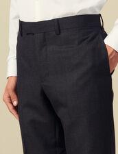 Pantaloni da completo impunturati : -50% colore Antracite