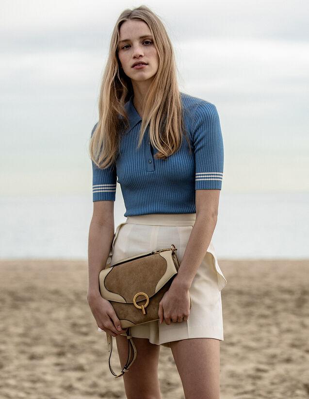 Pull Esprit Polo : null couleur Bleu jean