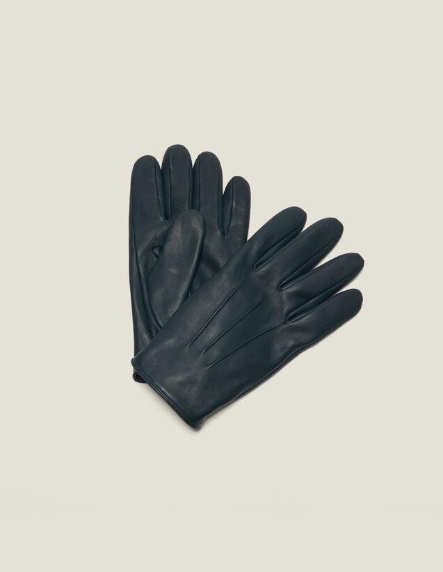 Gants en cuir : Gants & Bonnets couleur Noir