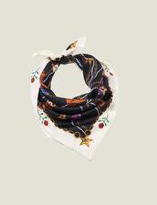 Foulard in seta con stampa stivali : FBlackFriday-FR-FSelection-40 colore Nero