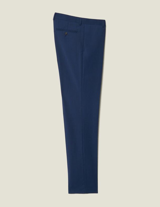 Pantaloni Da Completo Classici Super 110 : Collezione Inverno colore Pétrole