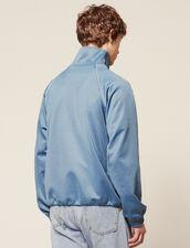 Giacca Da Jogging : Sélection Last Chance colore Blu acciaio
