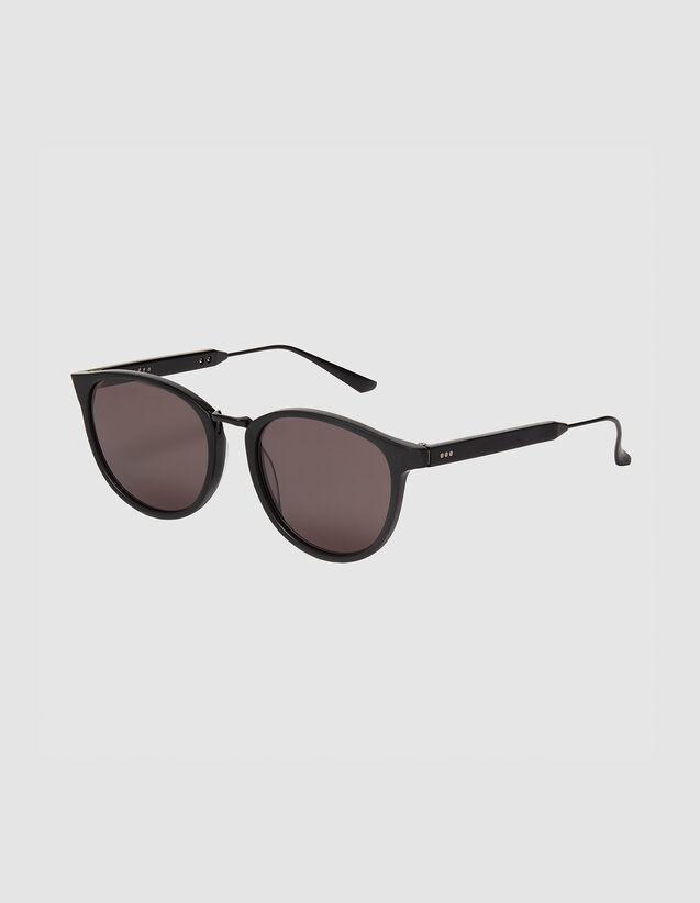 Occhiali Da Sole Rettangolari : Occhiali da sole colore Nero