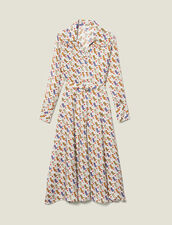 Abito a camicia con stampa stivali : LastChance-ES-F40 colore Multicolore