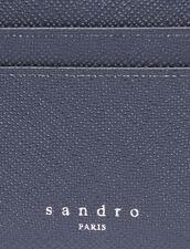 Porta carte in pelle : Porta carte & Portafogli colore Blu Marino