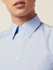 Camicia Formale In Cotone A Righe : LastChance-RE-HSelection-Pap&Access colore Sky Blue