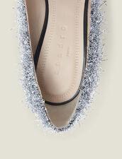 Décolleté con scollo a V : Tutte le Scarpe colore Argento