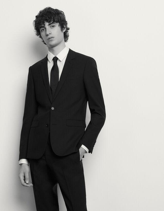 Giacca da completo classica in lana : Abiti & Smoking colore Blu Marino