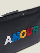 Pochette Amour : Tutta la Pelletteria colore Nero