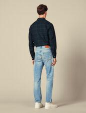Jean délavé : LastChance-IT-H50 couleur Blue Vintage - Denim