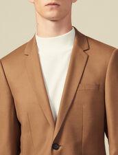 Giacca da completo in lana : -50% colore Blu Marino