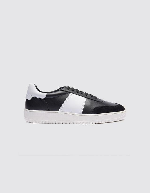 Sneaker In Pelle : Collezione Estiva colore Nero