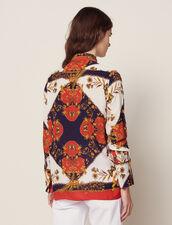 Camicia Stampata A Maniche Lunghe : Camicia stampata colore Multicolore