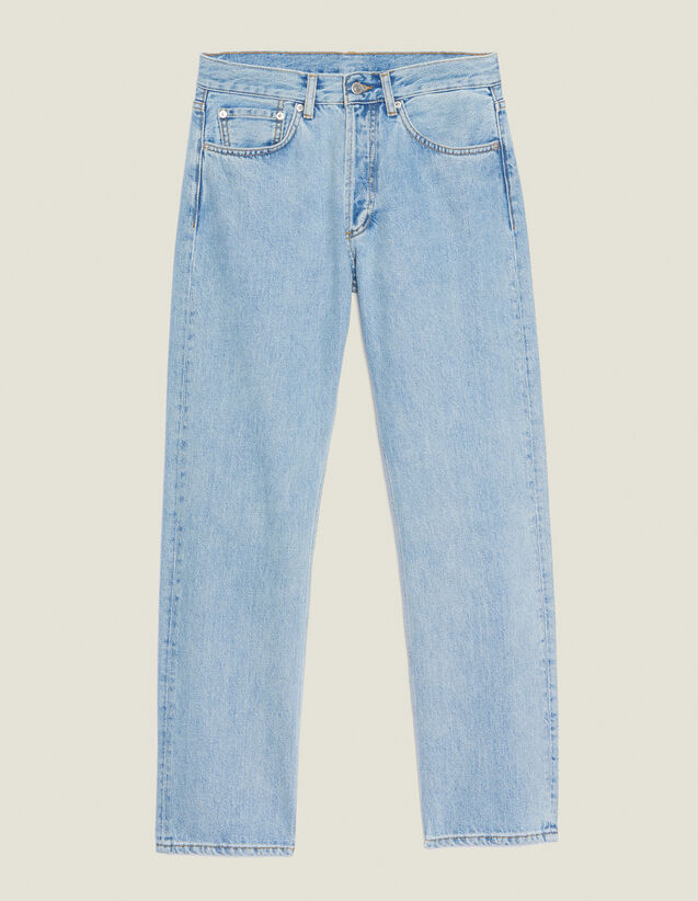 Jean Droit Blue Vintage : Sélection Last Chance couleur Blue Vintage - Denim