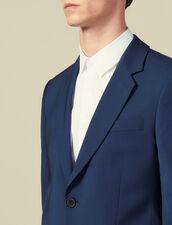 Veste de costume classique super 110 : HCollectionHiver couleur Pétrole