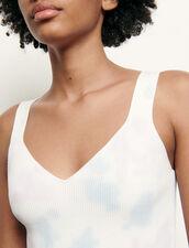 Brassière in maglia tie & dye : Top & Camicie colore Multicolore