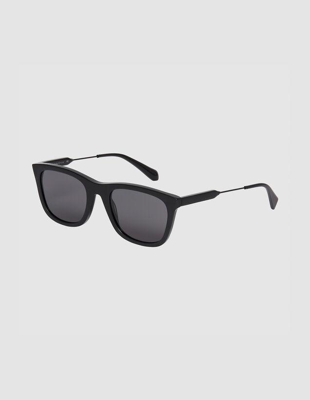 Occhialida sole rettangolari : Occhiali da sole colore Nero