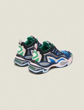 Astro Sneaker Con Suola Grafica : null colore Blu azzurro