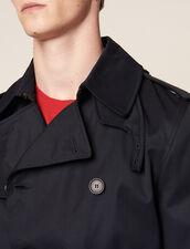 Trench Con Cintura : Icons colore Beige