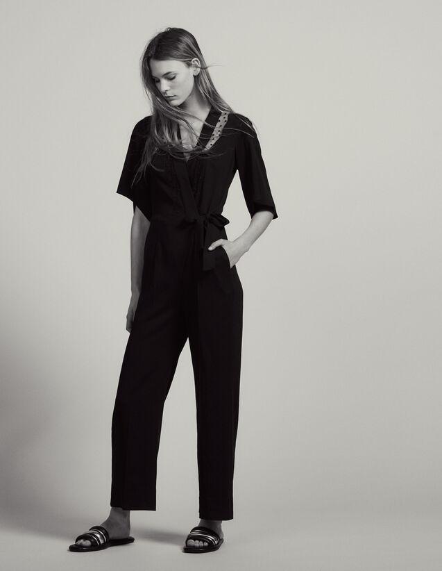 Tuta Pantalone Scaldacuore : Pantaloni colore Nero