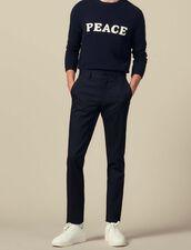Pantalon Slim Stretch : LastChance-IT-H50 couleur Marine