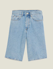 Pantaloncini In Jeans : Sélection Last Chance colore Blue Vintage - Denim