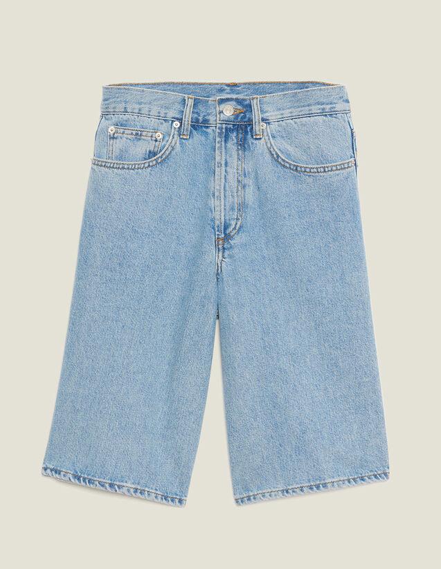 Pantaloncini In Jeans : Sélection Last Chance colore Blue Vintage - Denim