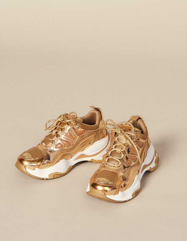 Baskets Astro : FBlackFriday-FR-Selection-Chaussures couleur Full Gold