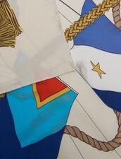 Foulard In Seta Stampata : null colore Multicolore