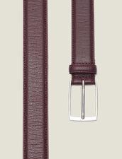 Cintura In Pelle A Grana : Collezione Inverno colore G023