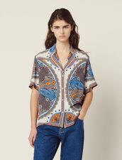 Camicia Pigiama Stampata : Top & Camicie colore Multicolore