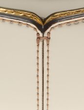 Portamonete In Pelle Effetto Specchio : null colore Oro