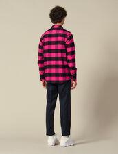 Camicia a quadri in cotone : Collezione Invernale colore Blu
