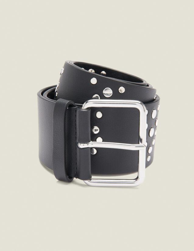 Cintura Nera Con Borchie : L'intera collezione Invernale colore Nero