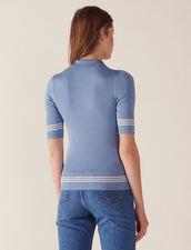 Pull Esprit Polo : LastChance-CH-FSelection-Pap&Access couleur Bleu jean
