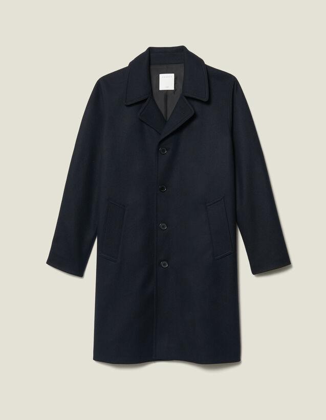 Cappotto Da Città Oversize : Trench & Cappotti colore Blu Marino