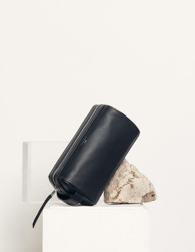Trousse de toilette : Toute la Maroquinerie couleur Noir