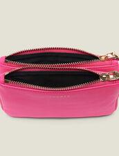 Pochette Mini Addict Con Cinturino : null colore Rosa Fluorescente