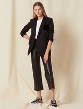 Veste De Tailleur : Blousons & Vestes couleur Noir